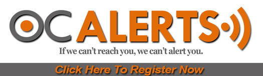 OC Alerts Web Registration