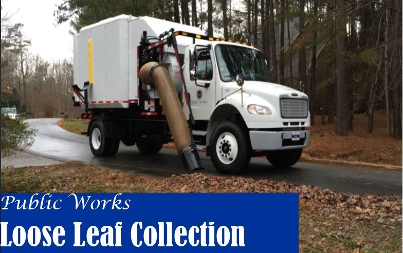 public works leaf collection
